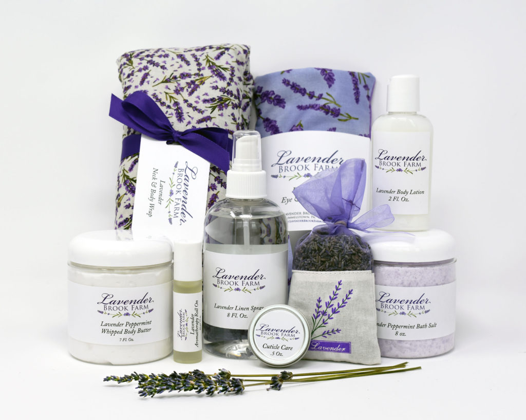 Some Lavender Brook Farm products